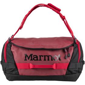 Marmot Long Hauler Duffel Valigie Medium rosso/nero